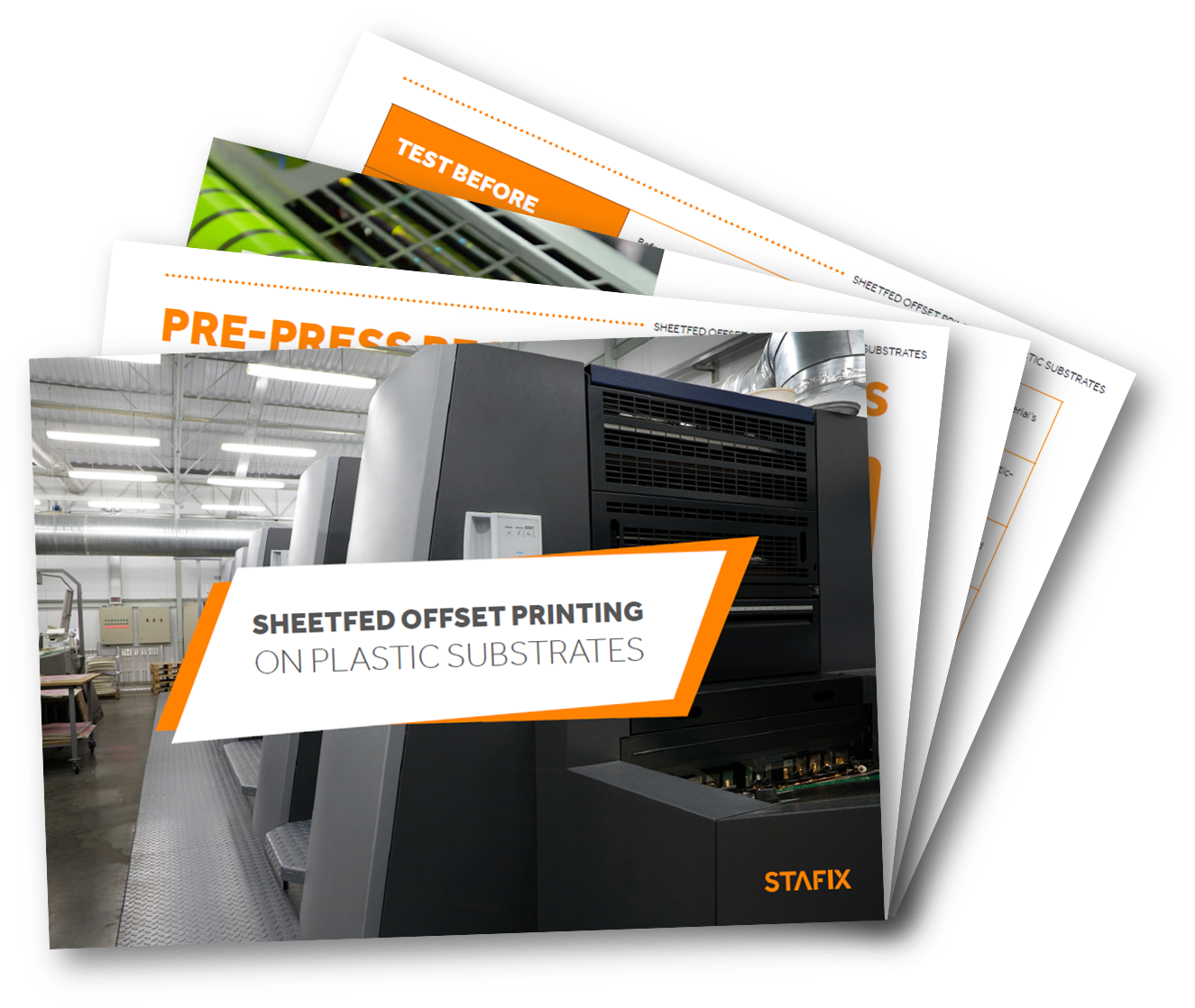 Sheetfed offset printing on plastic substrates
