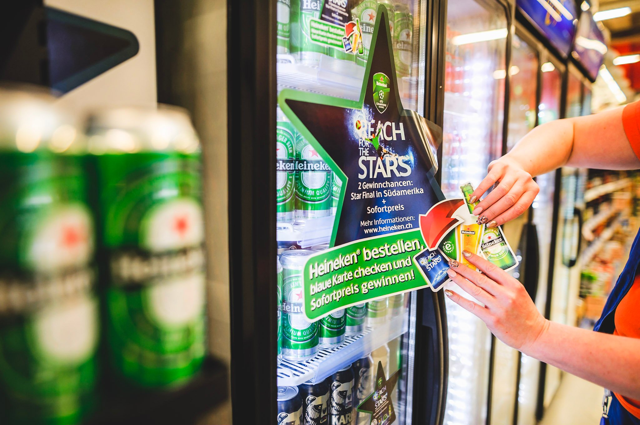 Promoting brewery products in stores - how is it done?