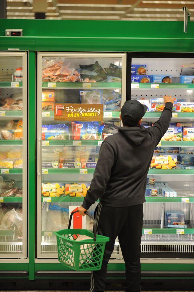 Myymälämainonta kylmissä olosuhteissa