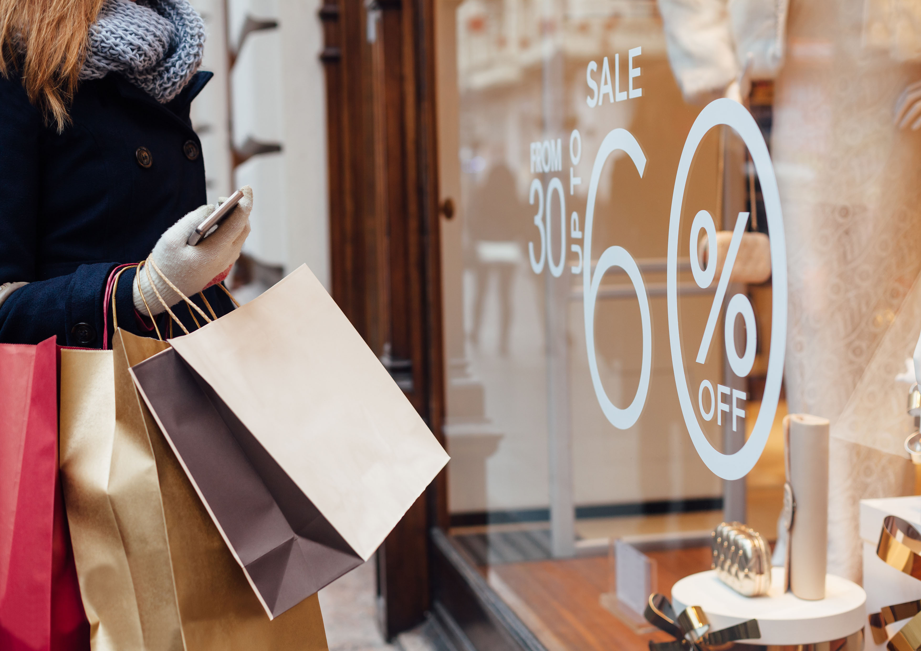 Transparent and customer focused in-store advertising