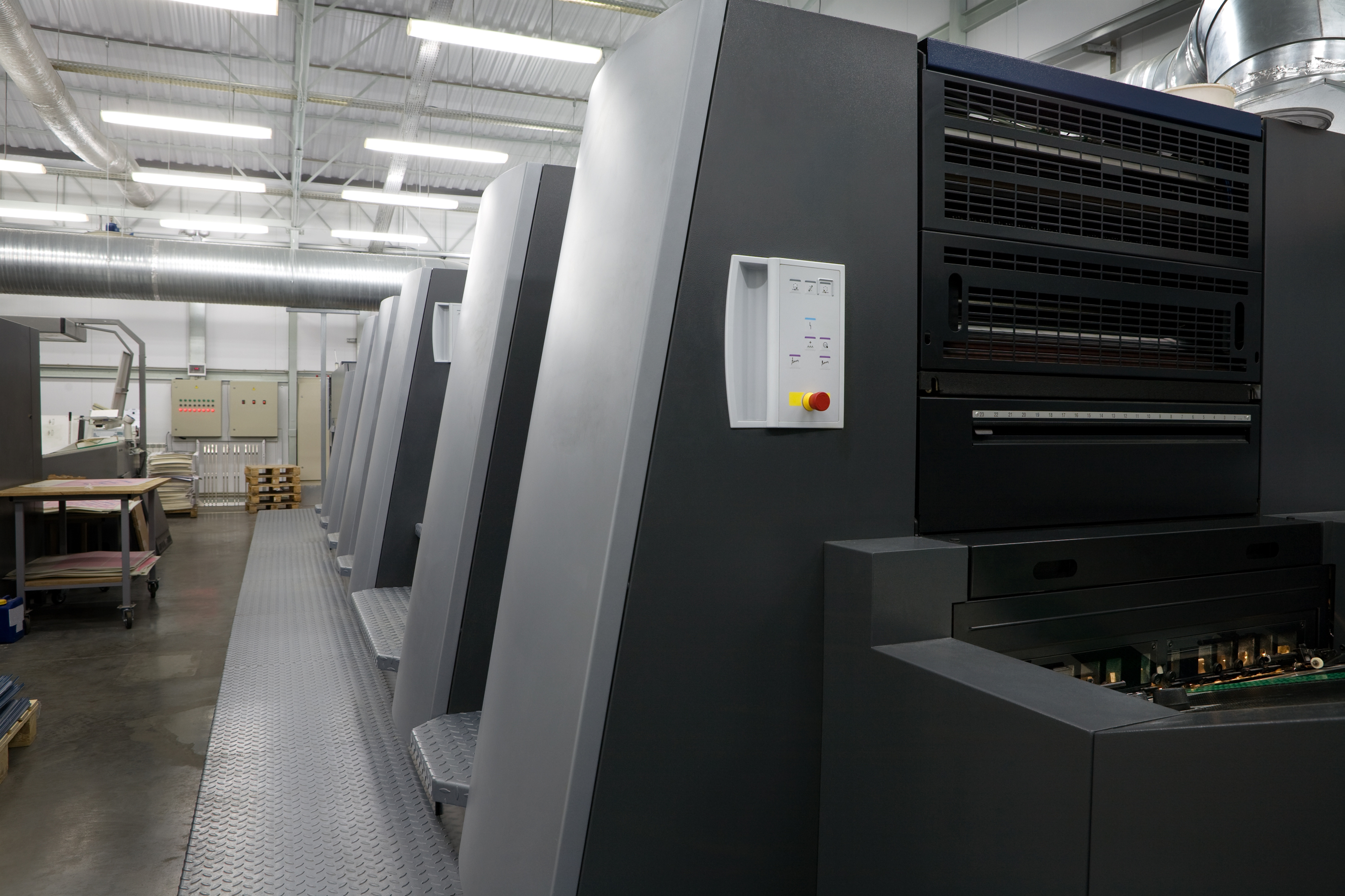 Different UV Curing Methods in Offset Printing