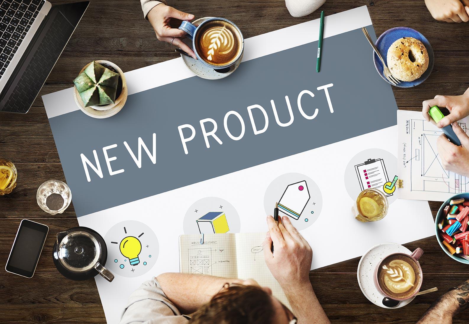 Lancements de produits et publicité sur le lieu de vente